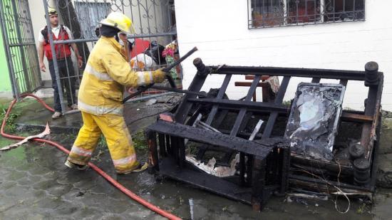 Conato de incendio en Las Playas