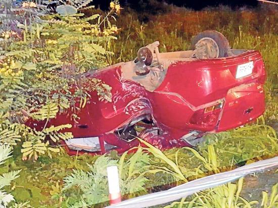 Dos amigos mueren en un accidente