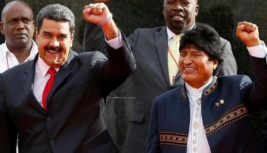 Evo Morales no se ve solo en la región por apoyar a Maduro