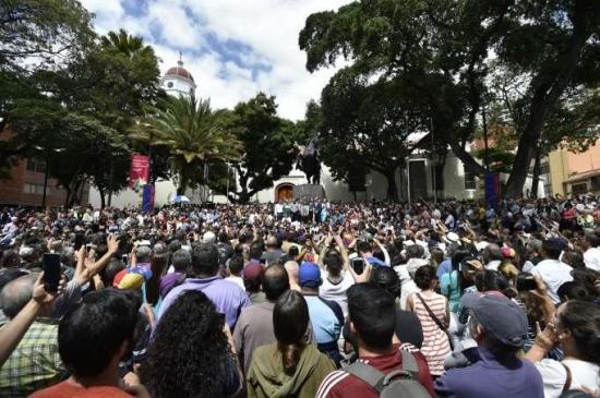 Juan Guaidó llama a los venezolanos a protestar en las calles
