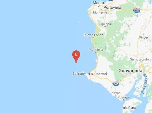 Más de 20 réplicas tras el sismo con epicentro en Salinas