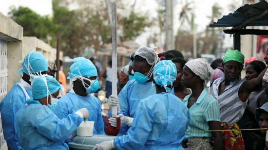 Son ya 518 muertos y 517 casos de cólera en Mozambique por el ciclón Idai