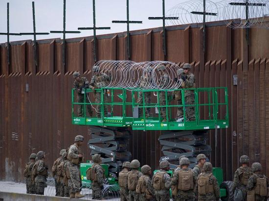 Estados Unidos cerraría su frontera sur