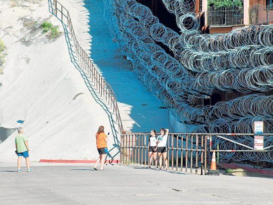 Más vigilancia en la frontera con México