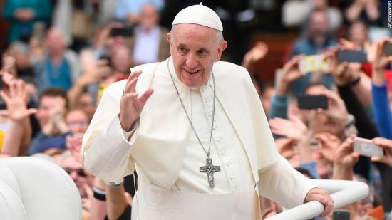 El papa agradece a quienes han tenido la valentía de denunciar los abusos