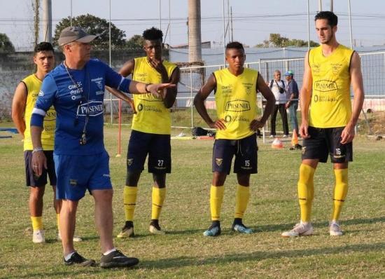 El DT Jorge Célico convoca a 25 jugadores a la Selección sub 20 de Ecuador