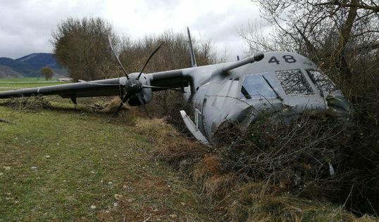Un accidente de avión en simulacro de emergencia causa diez heridos en España