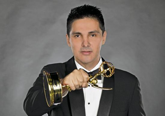 El manabita Darwin Robles, ganador de trece premios Emmy, teme su deportación de EE.UU.