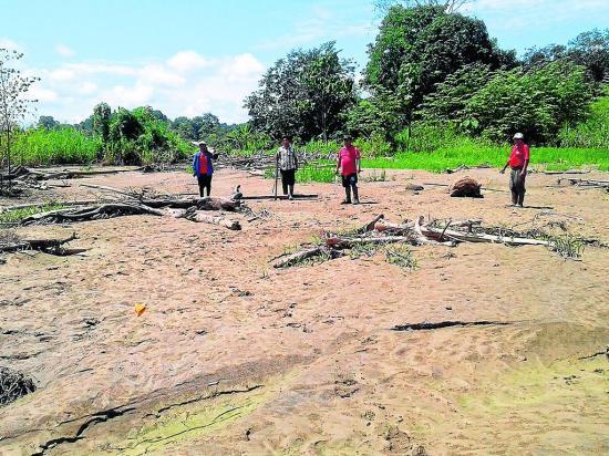 Agricultores de Pajan piden ayuda por lluvias