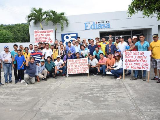Agricultores de la zona norte de Manabí piden iniciar trabajos del trasvase Carrizal-Chone
