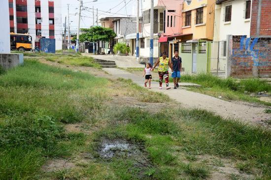 Habitantes denuncian problemas en Los Bloques de El Palmar