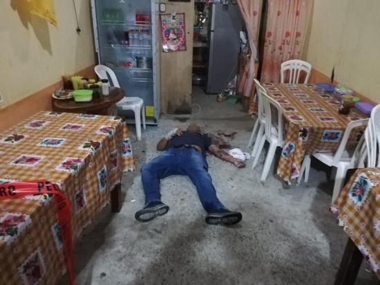 Buscan a los asesinos de hombre abaleado en Flavio Alfaro