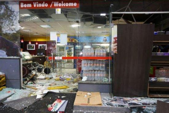 Once muertos en un tiroteo tras robo frustrado en dos bancos de Brasil