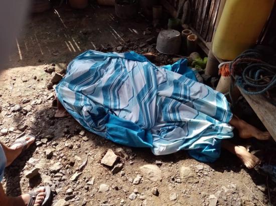 Mujer muere electrocutada mientras tendía ropa, en 24 de Mayo