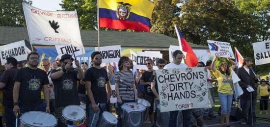Demandantes ecuatorianos contra Chevron aceptan que Canadá ''cerró la puerta''