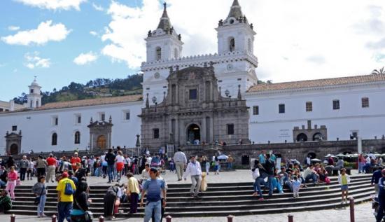 Estudian por primera vez efectos de contaminación en casco colonial de Quito