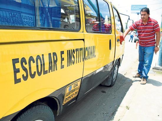 Transporte escolar, clave en las clases