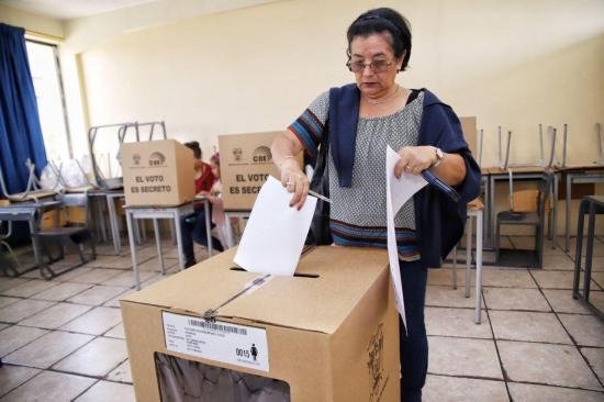 CNE finaliza el escrutinio de votos de las elecciones del 24 de marzo