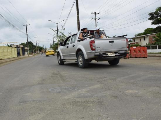 Hay quejas por el asfaltado de avenida