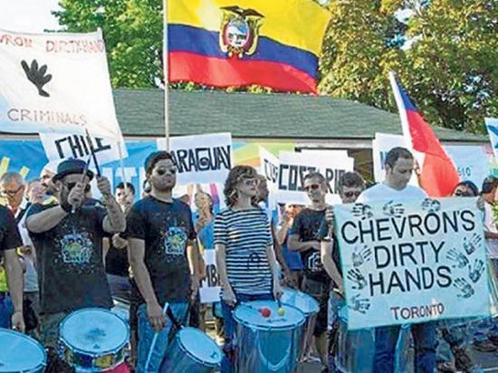 Los querellantes contra Chevron harán nuevas demandas
