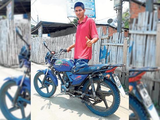 Un tanquero le quebró la pierna a Luis Párraga