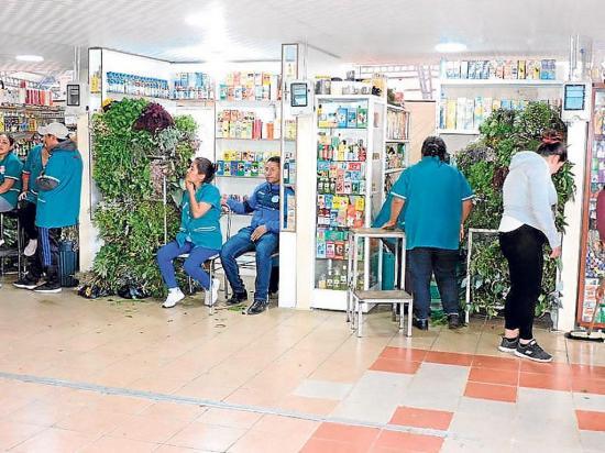 Las 'limpias' exprés  se dan en el mercado