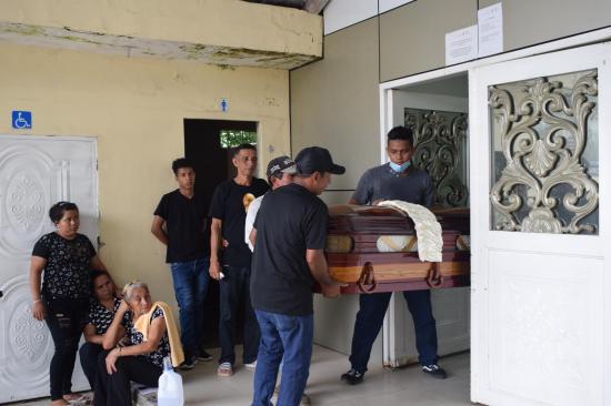 'Sarita' murió arrollado