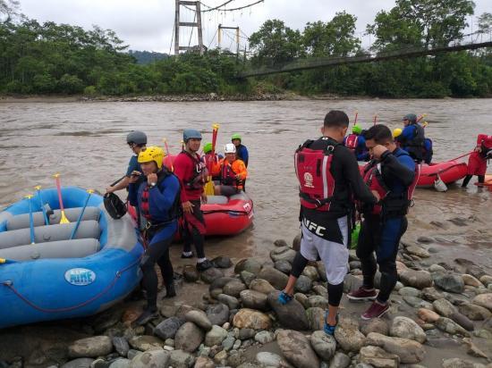 Búsqueda de español desaparecido en Ecuador avanza por aire, río y tierra