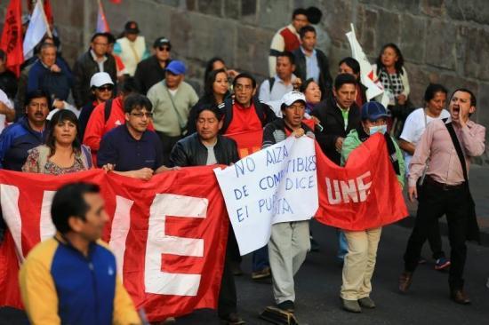 FUT: Sindicatos de Ecuador preparan huelga nacional y anuncian 1 de mayo combativo