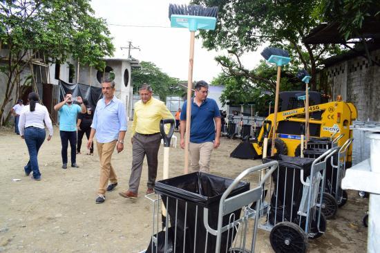 Alistan campaña de limpieza en Quevedo