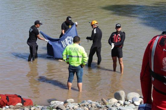 Español que desapareció en río de la Amazonía ecuatoriana falleció por asfixia