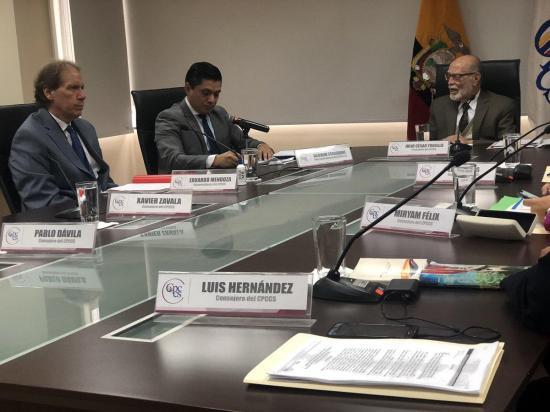 Freddy Carrión fue designado como el nuevo Defensor del Pueblo
