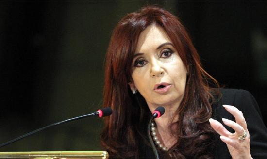 Cristina Fernández crítica que quienes 'revelan la verdad' sean 'perseguidos'