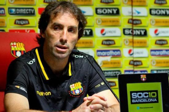 El uruguayo Guillermo Almada deja la dirección de Barcelona SC