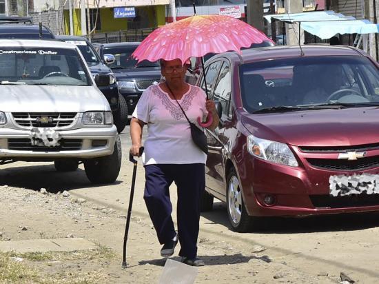 En Portoviejo se reportó la temperatura más alta a nivel nacional