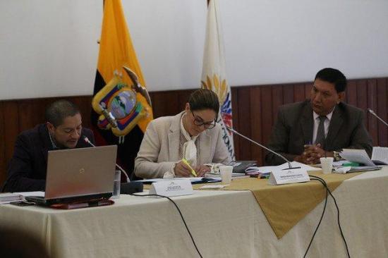 Comisión multipartidista  evita censurar a Elizabeth Cabezas por falta de pruebas