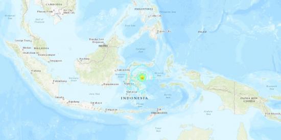 Indonesia retira alerta de tsunami tras sismo de 6,8 grados
