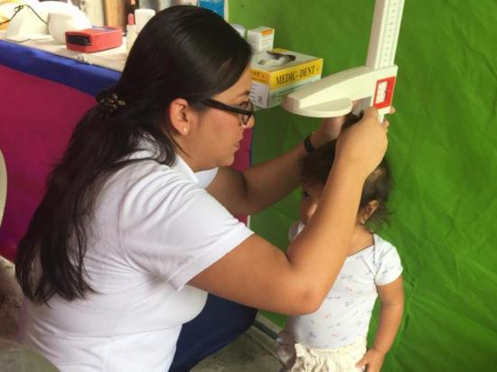 Desarrollan campaña médica para los niños de los CNH y CIBV