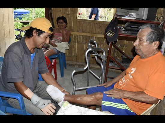 Discapacidad se adueñó de la familia Villamar