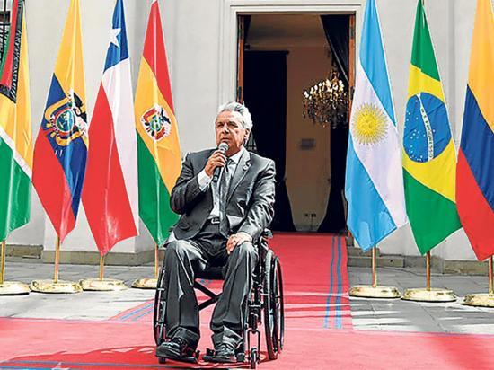 Moreno viaja a EE.UU. por foro de discapacidad y reunión de la OEA