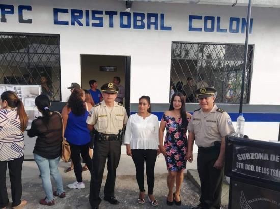 Policías cuentan con una UPC renovada