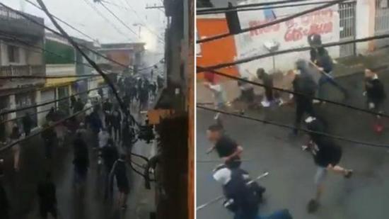 Al menos 14 heridos en una pelea entre hinchas de Sao Paulo y Corinthians