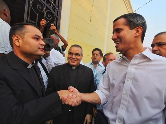 Guaidó, sin el apoyo del FMI
