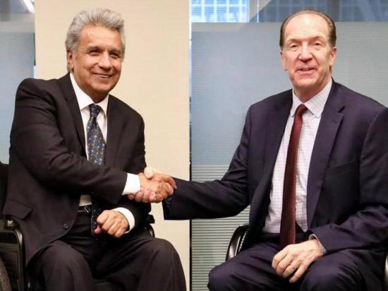 Moreno inició agenda en EE.UU.