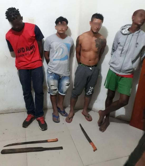 3 Policías fueron amenazados de muerte en La Concordia