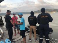 Detienen a tres supuestos piratas en el estuario del río Chone