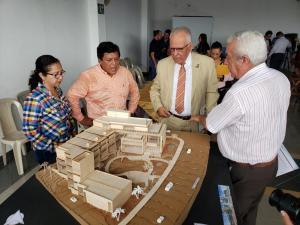 Quirola entrega información a Erazo
