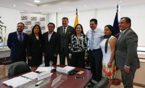 Alcaldesa reelecta de San Vicente es la nueva presidenta de la Asociación de Municipalidades