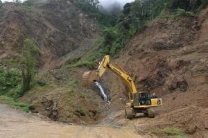 Autorizan el uso de la mina La Palma