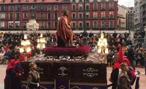 50.000 rosas ecuatorianas engalanan la Semana Santa en Valladolid
